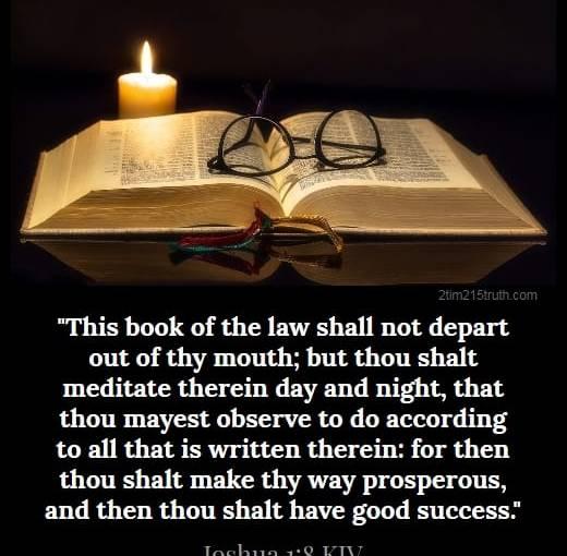 MEDITATE ON GOD'SWORD